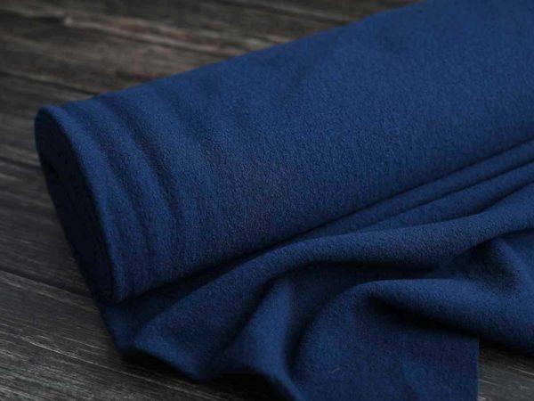 Edler Wollwalk 430 g/m2 | Blau