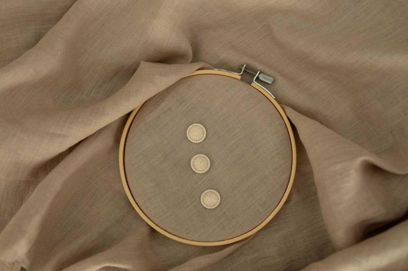 Baumwollknöpfen 18-mm