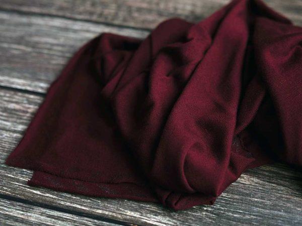 Merino Strick glatt 260 g/m2 | Bordeaux