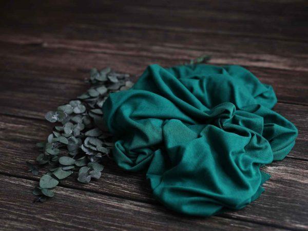 Leinen Cotton Jersey |  grün