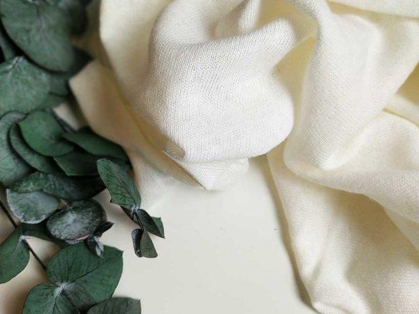 Leinen Jersey |  Weiß