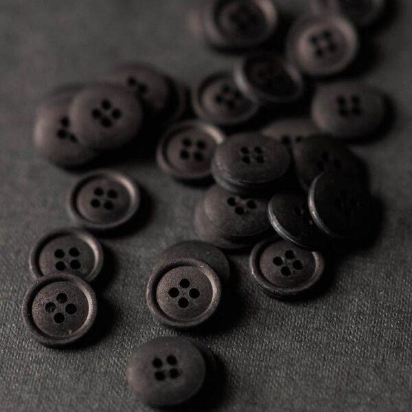 Cotton Button 15mm | Sweeps Scrim