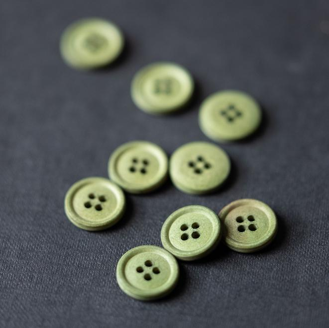 cotton Knöpfe bowling-green
