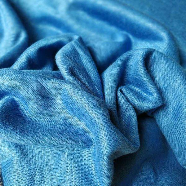 Leinen Jersey |  Blau