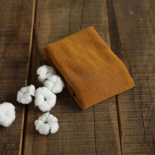 Merino-Wollstrick glatt 260 g/m2 | Mustard